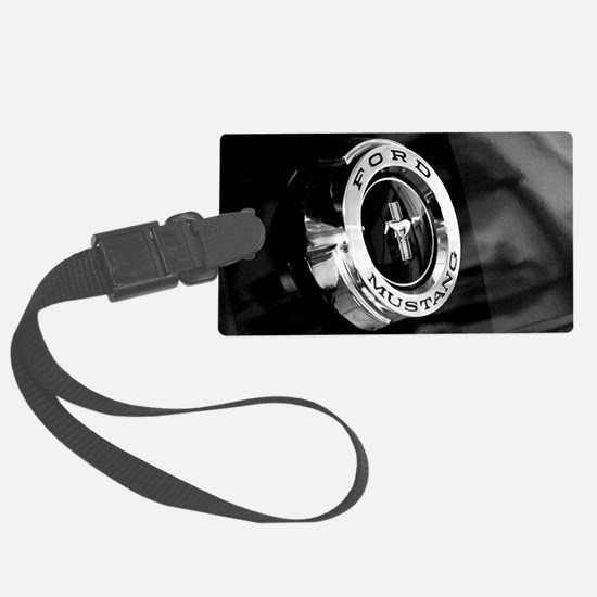 Unique Ford mustang Large Luggage Tag