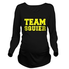 TEAM SQUIER Long Sleeve Maternity T-Shirt