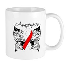 Oral Cancer Butterfly Mug