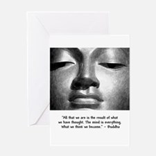 buddhathoughts Greeting Cards