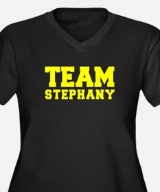 TEAM STEPHANY Plus Size T-Shirt