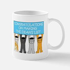 Congratulations on Making the Dean's List Mugs