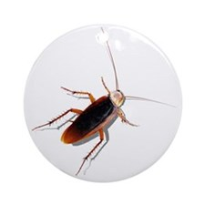 Pet Roach Round Ornament