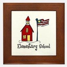 Elementary School Framed Tile