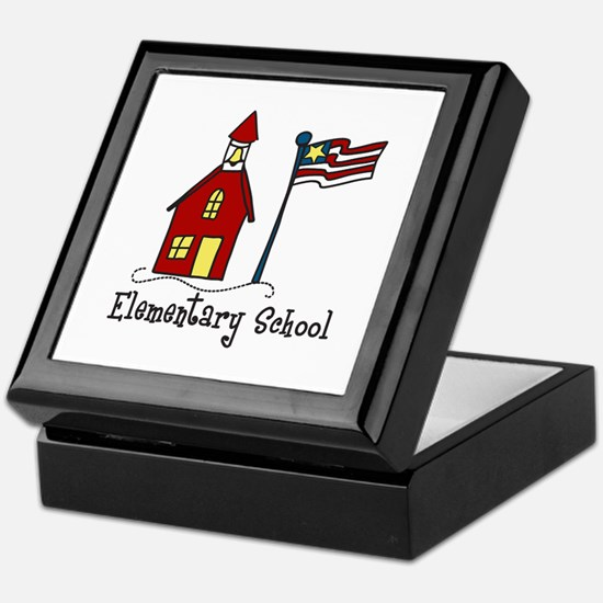 Elementary School Keepsake Box