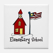 Elementary School Tile Coaster