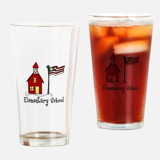 Elementary School Drinking Glass