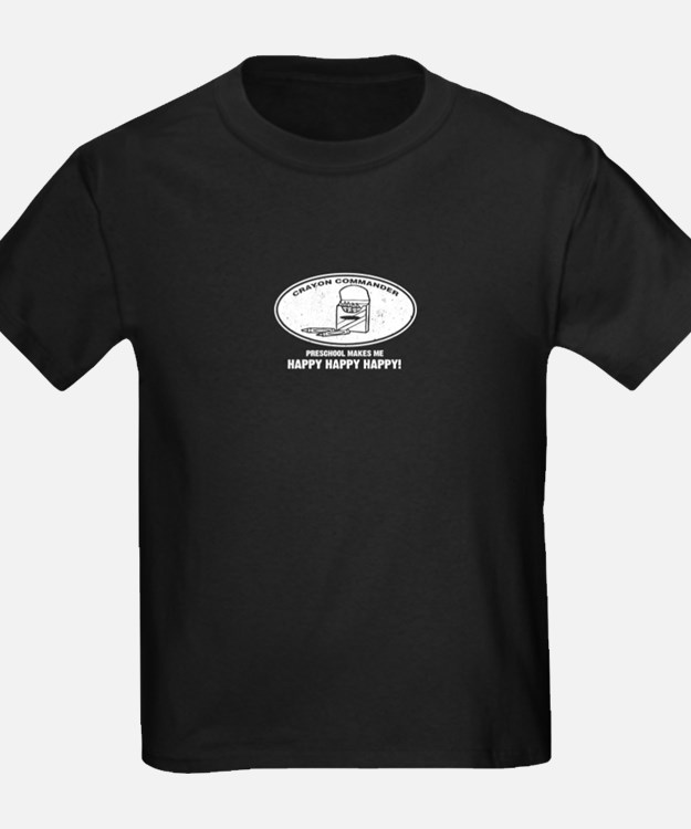 Crayon Commander - Preschool T-Shirt