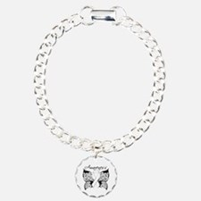 Lung Cancer Butterfly Bracelet