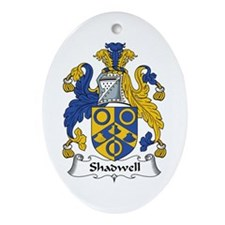 Shadwell Oval Ornament