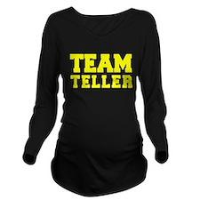 TEAM TELLER Long Sleeve Maternity T-Shirt