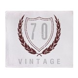 70th vintage Blankets