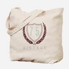 75th Birthday Laurels Tote Bag