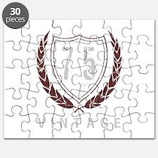 75th Birthday Laurels Puzzle