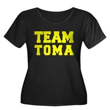 TEAM TOMA Plus Size T-Shirt