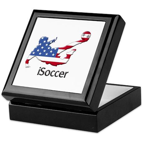 iSoccer USA Keepsake Box
