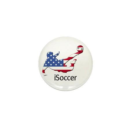 iSoccer USA Mini Button
