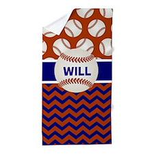 Unique Baseball theme Beach Towel