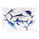 Blue marlin Pillow Cases