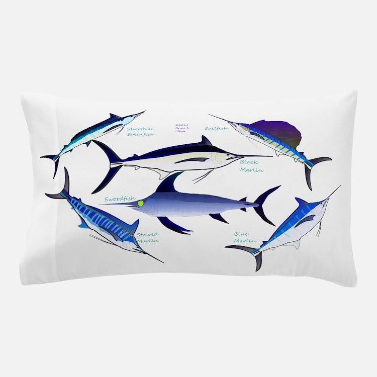 6 Billfish Pillow Case