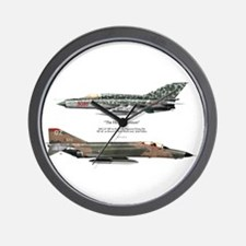 The History Lesson Wall Clock