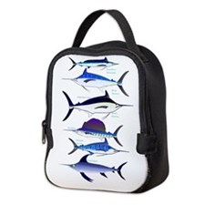 6 Billfish C Neoprene Lunch Bag