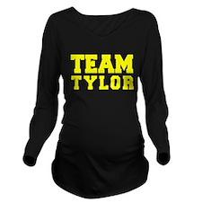 TEAM TYLOR Long Sleeve Maternity T-Shirt