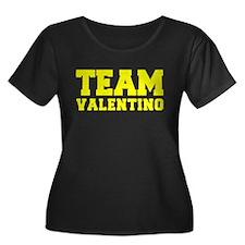 TEAM VALENTINO Plus Size T-Shirt