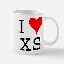 I Love XS Mug