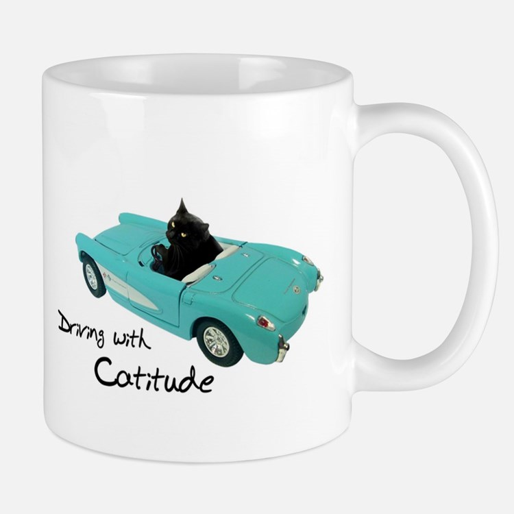 Driving with Catitude Mugs