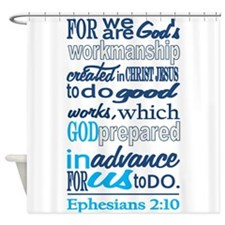 Created In Gods Image Shower Curtain