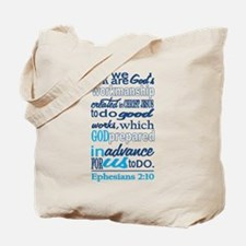 Created in Gods Image Tote Bag