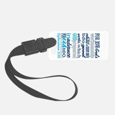 Created In Gods Image Luggage Tag