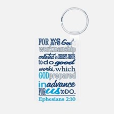 Created In Gods Image Keychains