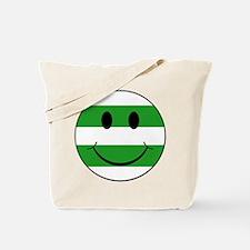 smiley hoops Tote Bag