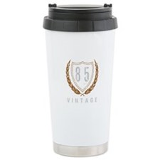 85th Birthday Laurels Travel Mug