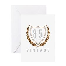 85th Birthday Laurels Greeting Card