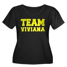 TEAM VIVIANA Plus Size T-Shirt