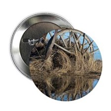 "Wagon Wheels 2.25"" Button"