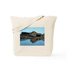 Barn Reflection Tote Bag