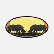 African Rhinos Patches