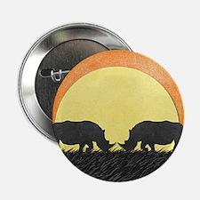 """African Rhinos 2.25"""" Button"""