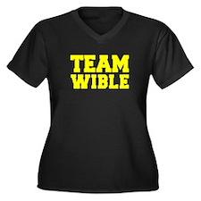 TEAM WIBLE Plus Size T-Shirt