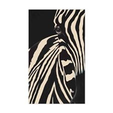 Creamy Beige Zebra Decal