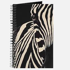Creamy Beige Zebra Journal