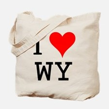 I Love WY Tote Bag