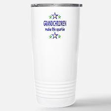 Grandchildren Sparkle Travel Mug