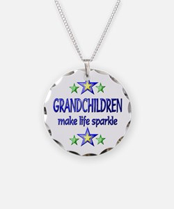 Grandchildren Sparkle Necklace