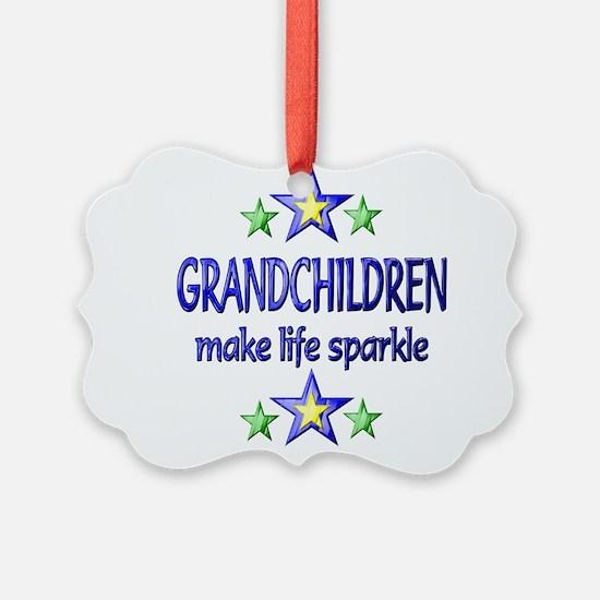 Grandchildren Sparkle Ornament