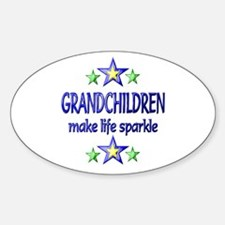 Grandchildren Sparkle Decal